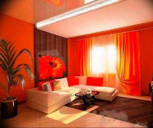 Фото Оранжевый цвет в интерь 20.06.2019 №081 - Orange color in the interio - design-foto.ru
