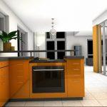 Фото Оранжевый цвет в интерь 20.06.2019 №084 - Orange color in the interio - design-foto.ru
