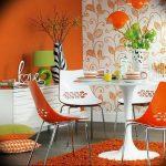 Фото Оранжевый цвет в интерь 20.06.2019 №092 - Orange color in the interio - design-foto.ru