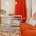 Фото Оранжевый цвет в интерь 20.06.2019 №098 - Orange color in the interio - design-foto.ru