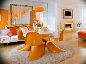 Фото Оранжевый цвет в интерь 20.06.2019 №101 - Orange color in the interio - design-foto.ru