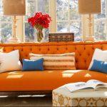 Фото Оранжевый цвет в интерь 20.06.2019 №130 - Orange color in the interio - design-foto.ru