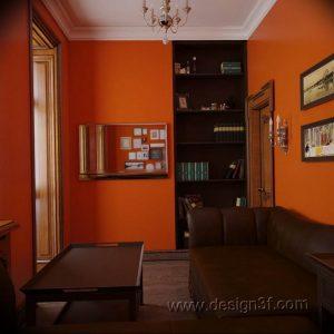Фото Оранжевый цвет в интерь 20.06.2019 №131 - Orange color in the interio - design-foto.ru