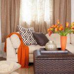 Фото Оранжевый цвет в интерь 20.06.2019 №138 - Orange color in the interio - design-foto.ru