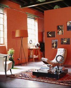 Фото Оранжевый цвет в интерь 20.06.2019 №152 - Orange color in the interio - design-foto.ru