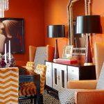 Фото Оранжевый цвет в интерь 20.06.2019 №155 - Orange color in the interio - design-foto.ru