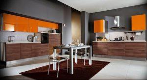Фото Оранжевый цвет в интерь 20.06.2019 №159 - Orange color in the interio - design-foto.ru