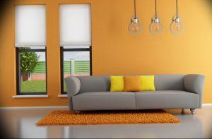 Фото Оранжевый цвет в интерь 20.06.2019 №167 - Orange color in the interio - design-foto.ru