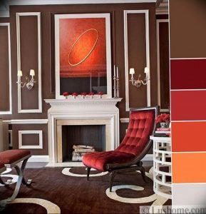 Фото Оранжевый цвет в интерь 20.06.2019 №183 - Orange color in the interio - design-foto.ru