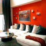 Фото Оранжевый цвет в интерь 20.06.2019 №210 - Orange color in the interio - design-foto.ru