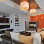 Фото Оранжевый цвет в интерь 20.06.2019 №211 - Orange color in the interio - design-foto.ru