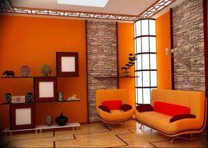Фото Оранжевый цвет в интерь 20.06.2019 №217 - Orange color in the interio - design-foto.ru