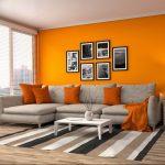 Фото Оранжевый цвет в интерь 20.06.2019 №219 - Orange color in the interio - design-foto.ru