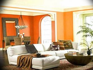 Фото Оранжевый цвет в интерь 20.06.2019 №221 - Orange color in the interio - design-foto.ru