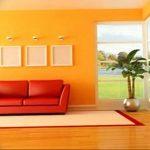 Фото Оранжевый цвет в интерь 20.06.2019 №223 - Orange color in the interio - design-foto.ru