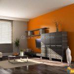 Фото Оранжевый цвет в интерь 20.06.2019 №224 - Orange color in the interio - design-foto.ru