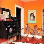 Фото Оранжевый цвет в интерь 20.06.2019 №229 - Orange color in the interio - design-foto.ru