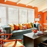 Фото Оранжевый цвет в интерь 20.06.2019 №238 - Orange color in the interio - design-foto.ru