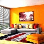 Фото Оранжевый цвет в интерь 20.06.2019 №285 - Orange color in the interio - design-foto.ru