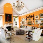Фото Оранжевый цвет в интерь 20.06.2019 №298 - Orange color in the interio - design-foto.ru