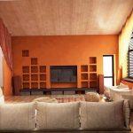 Фото Оранжевый цвет в интерь 20.06.2019 №318 - Orange color in the interio - design-foto.ru