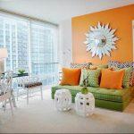 Фото Оранжевый цвет в интерь 20.06.2019 №321 - Orange color in the interio - design-foto.ru