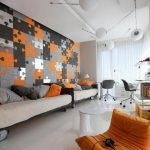 Фото Оранжевый цвет в интерь 20.06.2019 №330 - Orange color in the interio - design-foto.ru