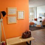 Фото Оранжевый цвет в интерь 20.06.2019 №335 - Orange color in the interio - design-foto.ru