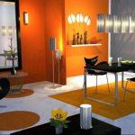 Фото Оранжевый цвет в интерь 20.06.2019 №342 - Orange color in the interio - design-foto.ru