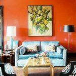 Фото Оранжевый цвет в интерь 20.06.2019 №383 - Orange color in the interio - design-foto.ru