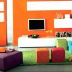 Фото Оранжевый цвет в интерь 20.06.2019 №395 - Orange color in the interio - design-foto.ru