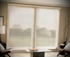 горизонтальные жалюзи в интерьере 19.09.2019 №001 - horizontal blinds in t - design-foto.ru