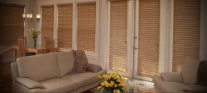 горизонтальные жалюзи в интерьере 19.09.2019 №012 - horizontal blinds in t - design-foto.ru