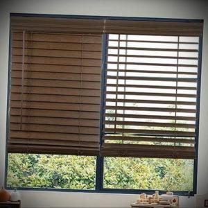 горизонтальные жалюзи в интерьере 19.09.2019 №034 - horizontal blinds in t - design-foto.ru