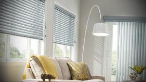 горизонтальные жалюзи в интерьере 19.09.2019 №038 - horizontal blinds in t - design-foto.ru