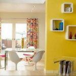желтый цвет в интерьере гостиной 09.10.2019 №020 -yellow in interior- design-foto.ru