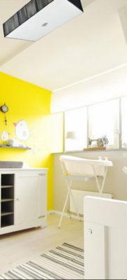 желтый цвет в интерьере детской 09.10.2019 №004 -yellow in interior- design-foto.ru