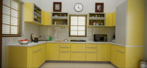 желтый цвет в интерьере кухни 09.10.2019 №010 -yellow in interior- design-foto.ru