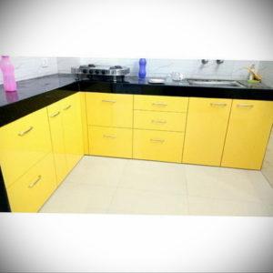 желтый цвет в интерьере кухни 09.10.2019 №013 -yellow in interior- design-foto.ru
