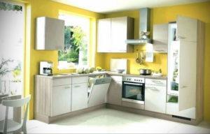 желтый цвет в интерьере кухни 09.10.2019 №037 -yellow in interior- design-foto.ru