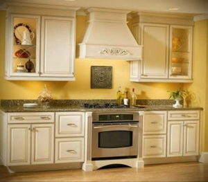 желтый цвет в интерьере кухни 09.10.2019 №038 -yellow in interior- design-foto.ru