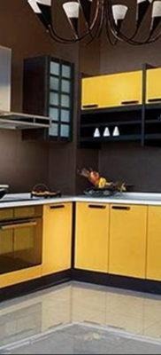 желтый цвет в интерьере кухни 09.10.2019 №044 -yellow in interior- design-foto.ru