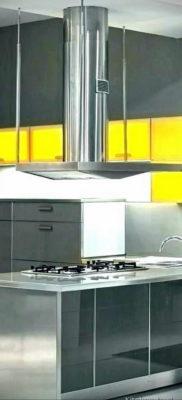 желтый цвет в интерьере кухни 09.10.2019 №053 -yellow in interior- design-foto.ru