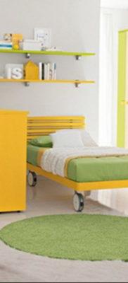 желтый цвет в интерьере спальни 09.10.2019 №012 -yellow in interior- design-foto.ru