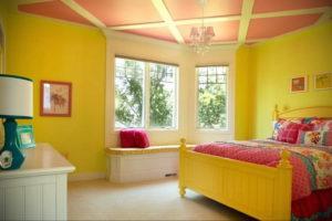желтый цвет в интерьере спальни 09.10.2019 №035 -yellow in interior- design-foto.ru