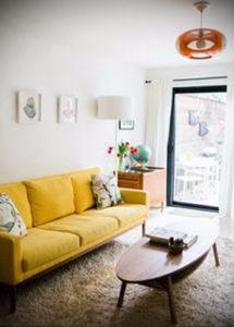 желтый цвет стен в интерьере 09.10.2019 №001 -yellow in interior- design-foto.ru
