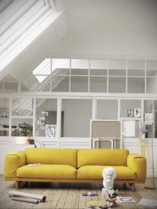 желтый цвет стен в интерьере 09.10.2019 №003 -yellow in interior- design-foto.ru
