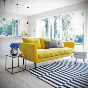 желтый цвет стен в интерьере 09.10.2019 №004 -yellow in interior- design-foto.ru