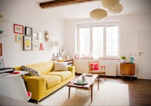 желтый цвет стен в интерьере 09.10.2019 №006 -yellow in interior- design-foto.ru