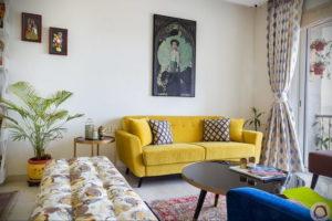 желтый цвет стен в интерьере 09.10.2019 №017 -yellow in interior- design-foto.ru